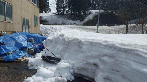 除雪150416-1.JPGのサムネイル画像のサムネイル画像